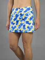JoFit Ladies Mina (Short) Tennis Skorts - Limoncello (Phoenix Watercolor)