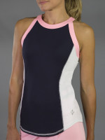 JoFit Ladies Baseline Tennis Tank Tops - Paloma (Midnight)