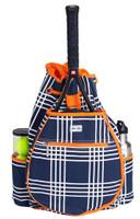 Ame & Lulu Ladies Kingsley Tennis Backpacks - Abbey Plaid
