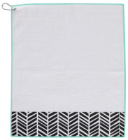 Ame & Lulu Tinsley Towel - Black Shutters