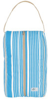Ame & Lulu Ladies Charleston Shoe Bags - Ticking Stripe