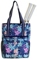 All For Color Ladies Tennis Shoulder Bags - Midnight Blooms