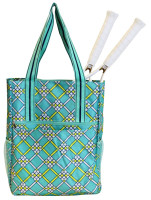 All For Color Ladies Tennis Shoulder Bags - Open Court