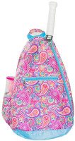 NTB Ladies Tennis Backpack - Mary Lou (Pink Paisley)