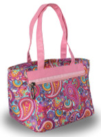 LGS Ladies Golf/Tennis Cooler Tote Bag - Paisley
