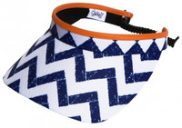 Glove It Ladies Print Tennis Visors - Coastal Tile