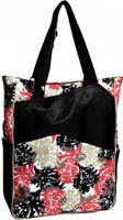 Glove It Ladies Tennis Tote Bags - Coral Reef (Pink & Black)