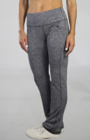 """JoFit Ladies & Plus Size Live In 31.5"""" Pull On Fitness Pants - Sangria (Carbon)"""