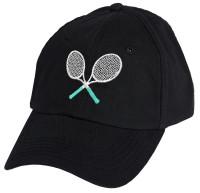 Ame & Lulu Ladies Lovers Tennis Hats - Black Shutters
