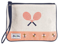 Ame & Lulu Ladies Lovers Tennis Wristlets - Bees Knees