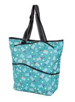 Sydney Love Ladies Serve It Up  Large Tennis Tote Bag - Turquoise