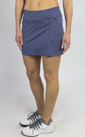 JoFit Ladies & Plus Size Mina Tennis Skorts (Short) - MADRAS (Bow Print)