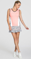 Tail Ladies & Plus Size Tennis Outfits (Tank Tops & Skorts) - TAFFY (Sterling/Brianna)