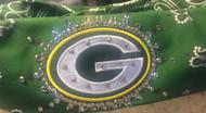Bandana, Sports Green Bay Packers Green FREE SHIPPING.