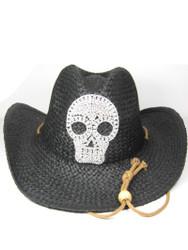 Cowboy Hat, Skull Bling Bling