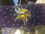 Bandana, Sports Vikings Plain Purple FREE SHIPPING