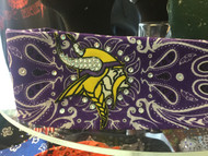 Bandana, Sports Vikings Purple Swirl FREE SHIPPING