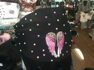 Headband, Angel Wing Pink Centerpiece FREE SHIPPING