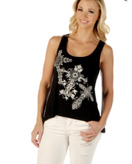 Tank, Cross Deep Black Small - 3x Made in USA