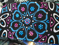 Bandana, Multi Color Pink & Blue FREE SHIPPING