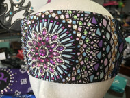 Bandana, Burst Purples FREE SHIPPING