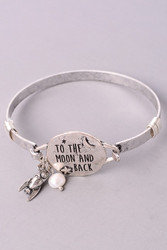 Bracelet, To The Moon & Back