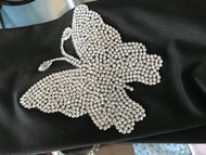 Headband, Butterfly Bling Bling FREE SHIPPING