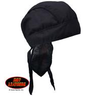 Headwrap, Black w/ Sweatband FREE SHIPPING