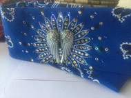 Bandana, Angel Wing Royal Blue