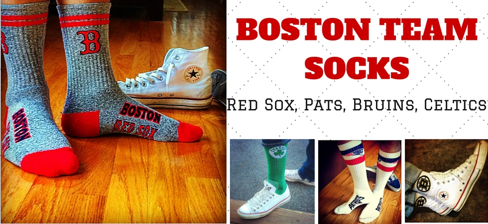 Boston Sports Team Socks