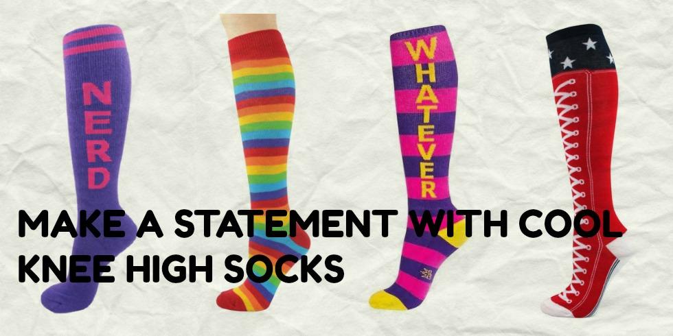 Cool knee high socks