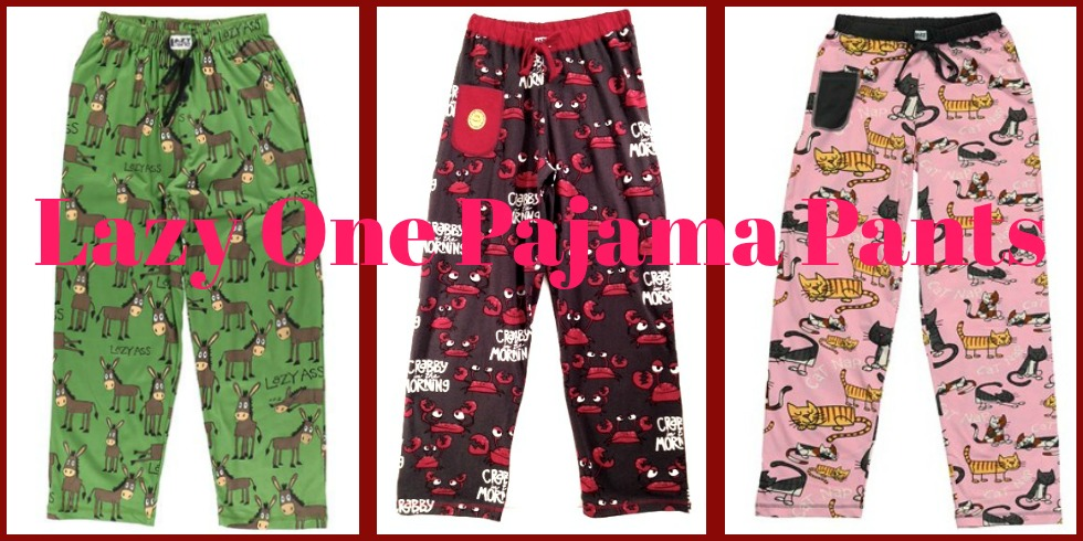 Fun pajama pants by Lazy One