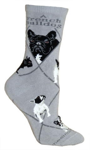 French Bull Dog Socks