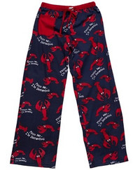 """Pinch Me I'm Dreaming"" Lobster Pajama Pants by Lazy One"