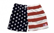 American Flag Swim Trunks by Exist