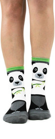Panda Slipper Socks by Foot Traffic