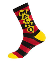 Macho Dress Crew Socks by Gumball Poodle