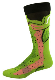 Men's Trout Socks by K. Bell