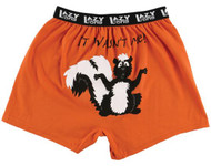 It Wasn't Me Boxer Shorts by Lazy One - rear view