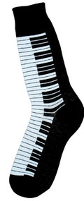 Piano Keys Socks for Men by Foot Traffic