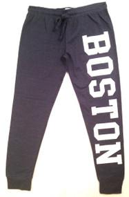 Boston Joggers in Dark Blue with White logo