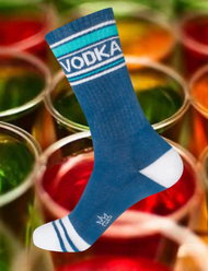 Vodka socks by Gumball Poodle