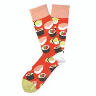 Sushi Yum Yum Socks by Two Left Feet Sock Co.