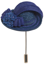 Royal Lady Hat Pin - Harriet Rosebud