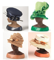 *Set of (4) Harriet Rosebud Hats 3114,3127,3132,3124