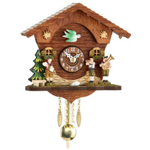 Cuckoo Clock with Oktoberfest Band