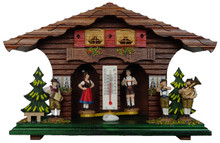Weather House with Band Figures