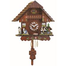 Quartz Pendulum Clock and Cuckoo Chime and Band