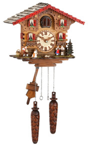 Black Forest Quartz Cuckoo Clock plays 12 Different Melodies