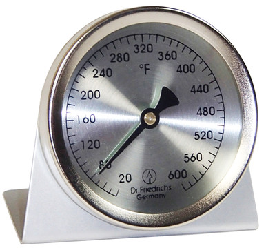 Stainless Steel Oven Instant Read Thermometer Round Hokco